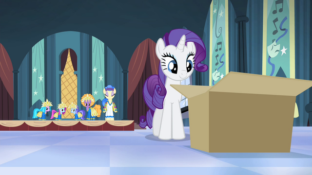 File:Rarity approaching the box S4E19.png
