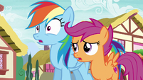 "Scootaloo ""she's only in the Reserves"" S6E7"