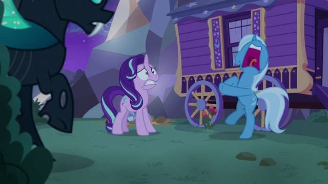 File:Starlight and Thorax look at screaming Trixie S6E25.png