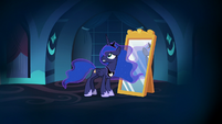 Princess Luna all alone in her nightmare S7E10