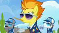 Spitfire with a pencil in her mouth S6E24.png