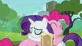 Pinkie giving Rarity a grateful hug S6E3.png