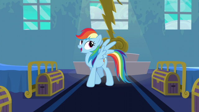 "File:Rainbow ""the dream of near every little Pegasus"" S6E7.png"