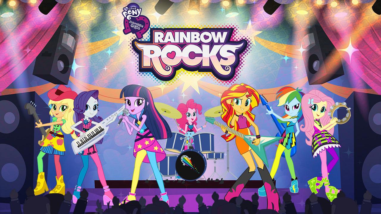 Image result for My Little pony rainbow rocks netflix