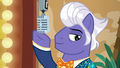 Microphone lowers into Gladmane's hoof S6E20.png