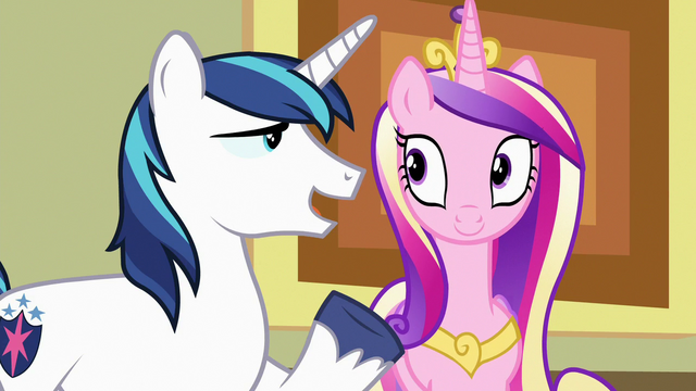 "File:Shining Armor ""little chocolate hoofprints"" S7E3.png"
