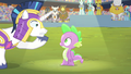 "Shining Armor ""they only play the anthem for the winner"" S4E24.png"