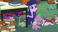 Spike has an idea EG