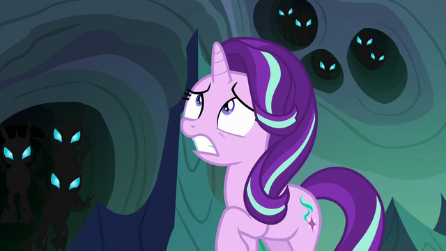 File:Thorax looking scared at Queen Chrysalis S6E26.png