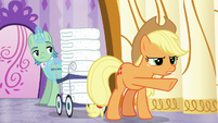 "Applejack ""you need to make more steam"" S6E10"