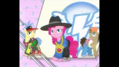 My Little Pony Friendship Is Magic - The rappin' Hist'ry of the Wonderbolts (Swedish)