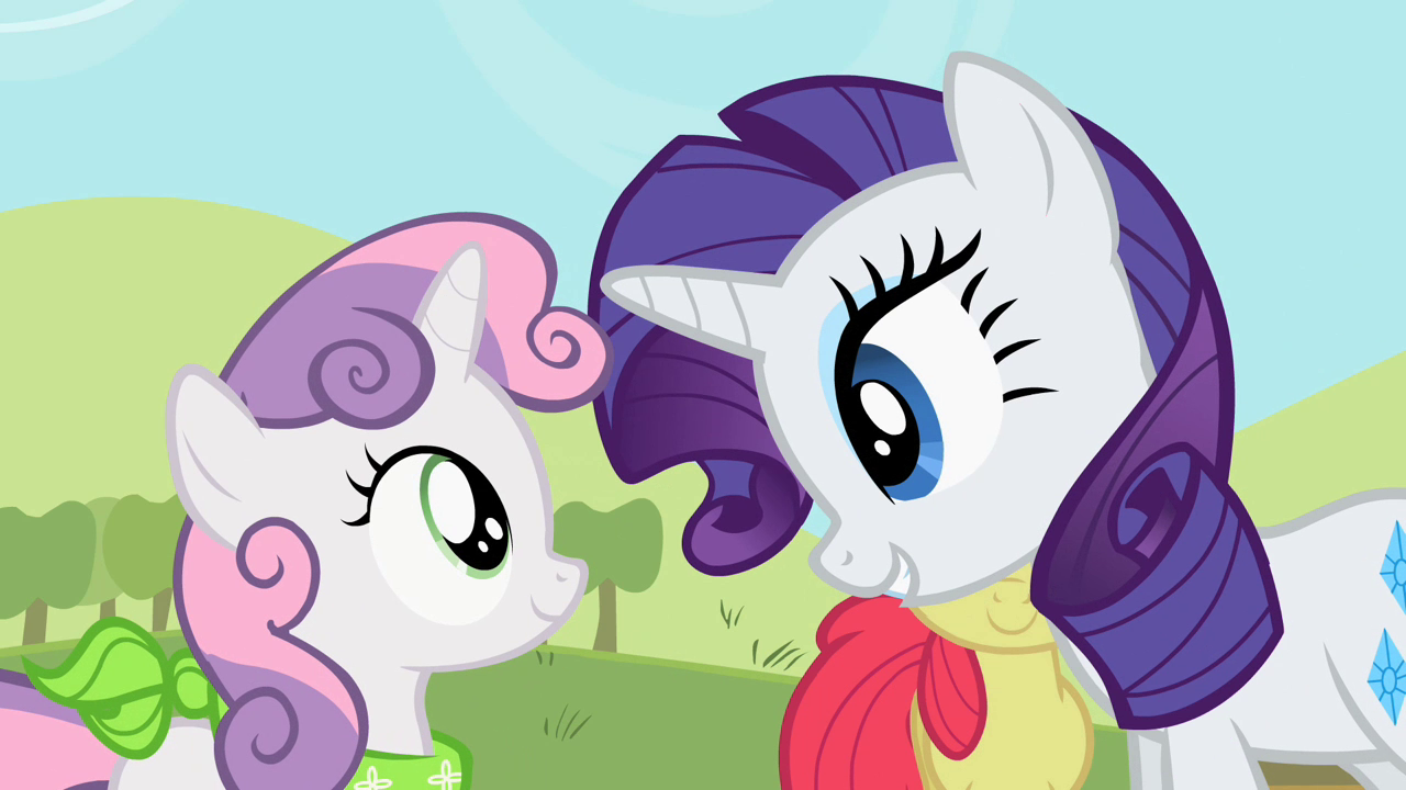 My little pony rarity and sweetie belle - photo#29