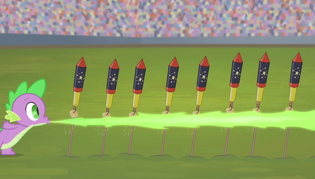 File:Spike lighting the fireworks S4E24.png
