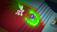 Twilight surrounded by a ring of fire S02E25