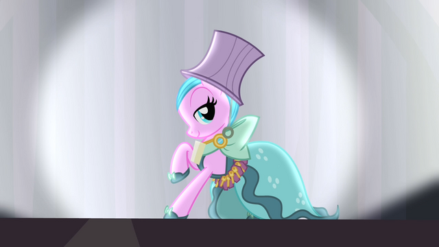 File:Pony wearing Hotel Chic dress S4E08.png
