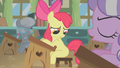 Apple Bloom being teased in class S1E12.png