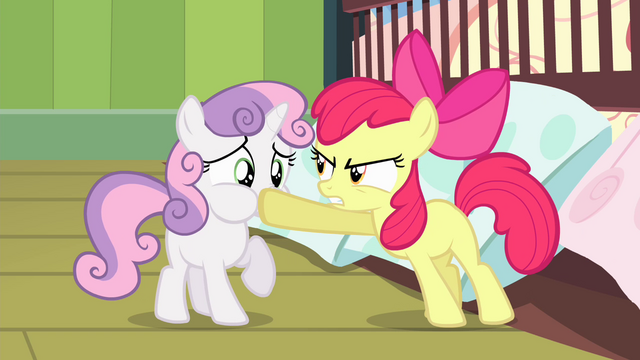File:Apple Bloom silences Sweetie Belle S4E17.png