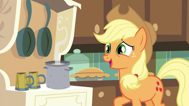 "File:Applejack ""I'm sure there's plenty apples"" S4E18.png"