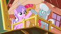 Babs, Diamond Tiara and Silver Spoon 'Bump, bump' S3E04.png