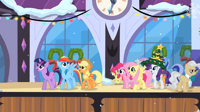 File:Main ponies in Canterlot S2E11.png