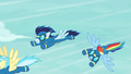 Rainbow Dash breaks out of formation S6E7.png