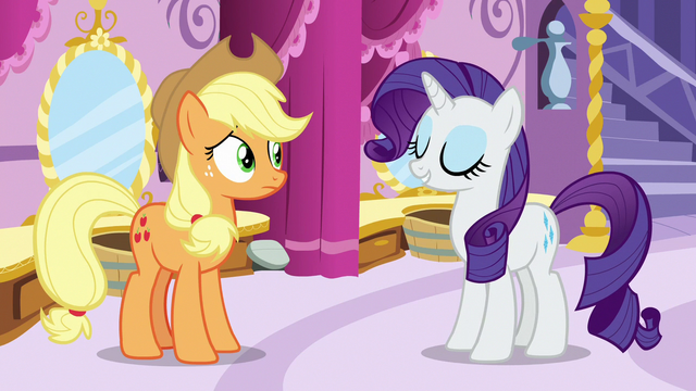 "File:Rarity ""Miss Pommel is making the point"" S7E9.png"