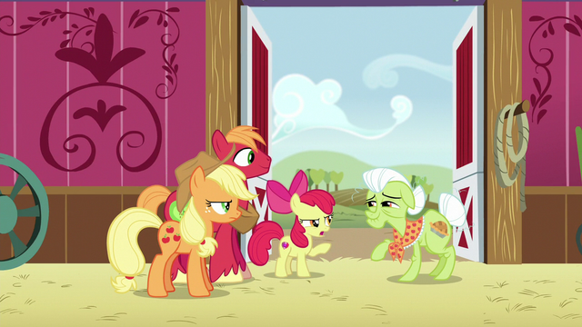 """File:Apple Bloom """"what's so funny?"""" S6E23.png"""