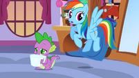 Rainbow Dash Uh Oh S3E11