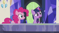 "Twilight ""I'll stay here and do important princessy things"" S5E8"