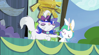 Angel and Opal as Celestia and Luna S4E21