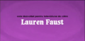 Developed for TV by Lauren Faust Credit - Romanian (DVD).png