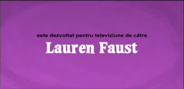 File:Developed for TV by Lauren Faust Credit - Romanian (DVD).png