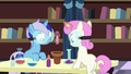 Filly Minuette and Twinkleshine in chemistry class S7E1.png