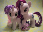 Sweetie Belle and Rarity Toys