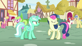 Sweetie Drops turning away from Lyra Heartstrings S7E15.png