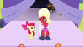 Apple Bloom and Orchard Blossom singing Sisterhood S5E17.png