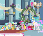 Canterlot Wedding Wallpaper 4