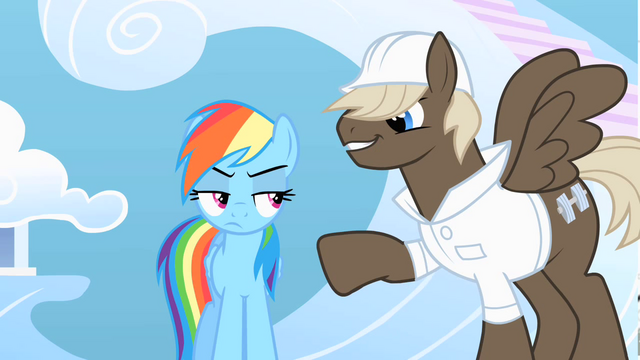 File:Dumb-Bell taunts Rainbow Dash S01E16.png