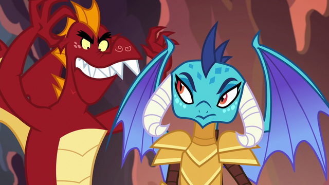 File:Garble menacing Princess Ember S6E5.png