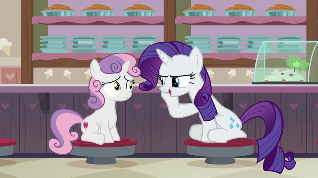 "File:Rarity ""I convinced the original owner"" S7E6.png"