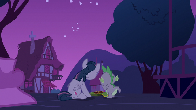 File:Twilight Sparkle and Spike eating cookies S6E15.png