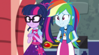 Twilight and Rainbow meet Juniper Montage EGS2
