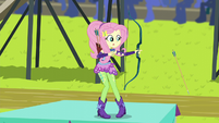 Fluttershy's arrow doesn't shoot EG3