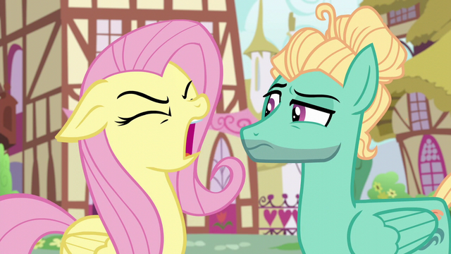 File:Fluttershy yelling at Zephyr Breeze S6E11.png
