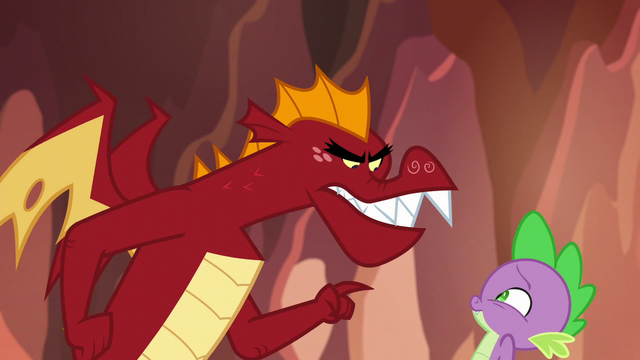 """File:Garble """"I'm not losing to"""" S6E5.png"""