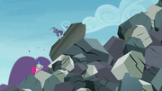 Maud Pie punching giant boulder S4E18.png