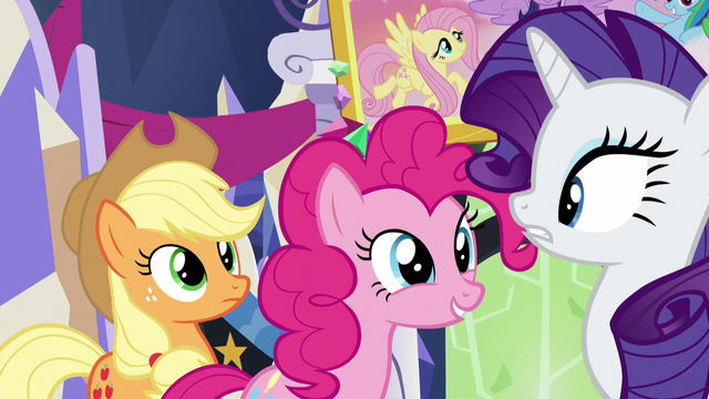 "File:Pinkie ""what are you guys talking about?"" S5E3.png"