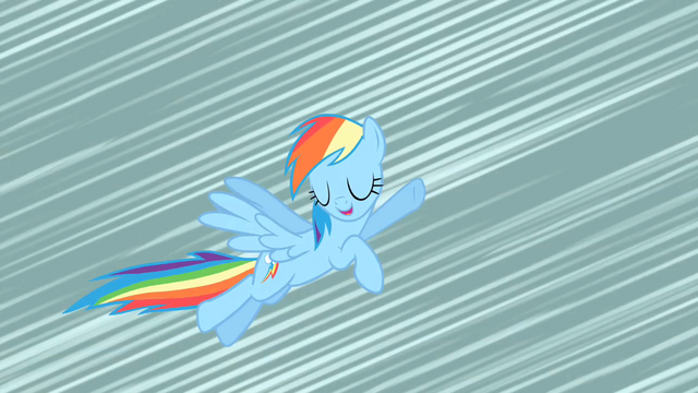 File:Rainbow Dash before losing her wings S02E01.png