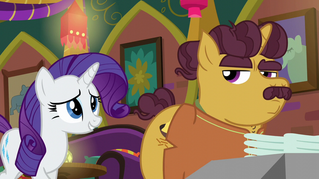"File:Rarity ""I understand your trepidation"" S6E12.png"