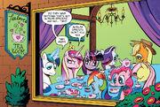 Comic issue 11 Tealove's Tea Room